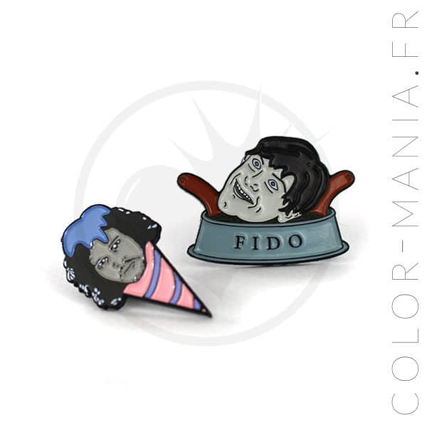 Pin's Game of Thrones Jonny Snowcone et Ramsay Fido| Color-Mania