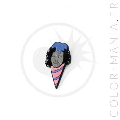 Pin's Jonny Snowcone Rose et Bleu | Color-Mania