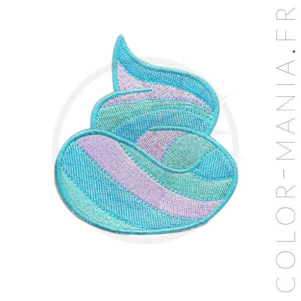 Patch Caca de Sirène Bleu-Vert| Color-Mania