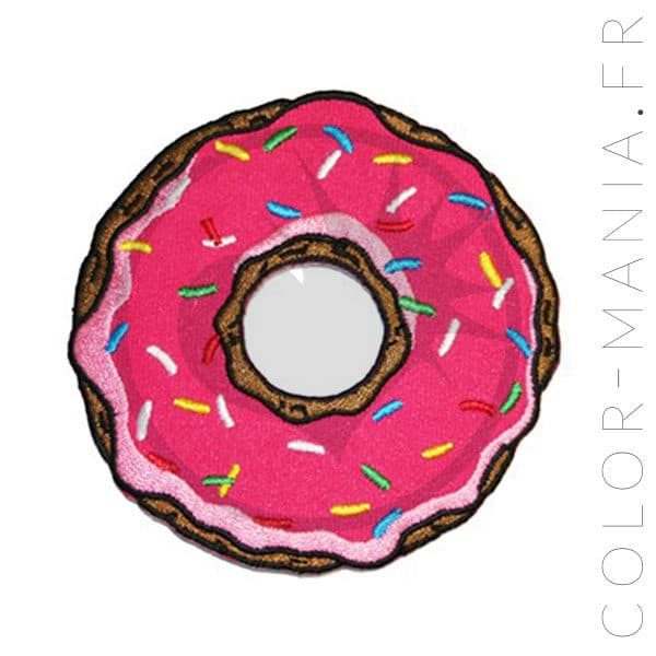 Patch Donut Rose   Color-Mania