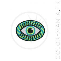 Parche ocular psicodélico | Color-Mania