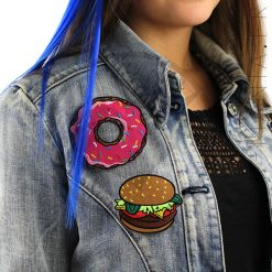 El parche de Burger and Donut | Color-Mania