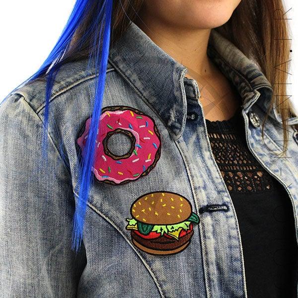 Patch Burger et Donut's   Color-Mania