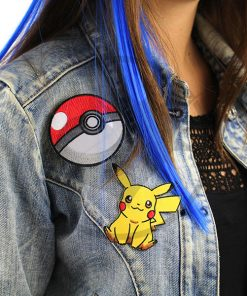 Patch Pokeball y Pikachu | Color-Mania