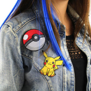Patch Pokeball et Pikachu | Color-Mania