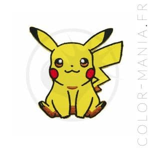 Patch Pikachu | Color-Mania