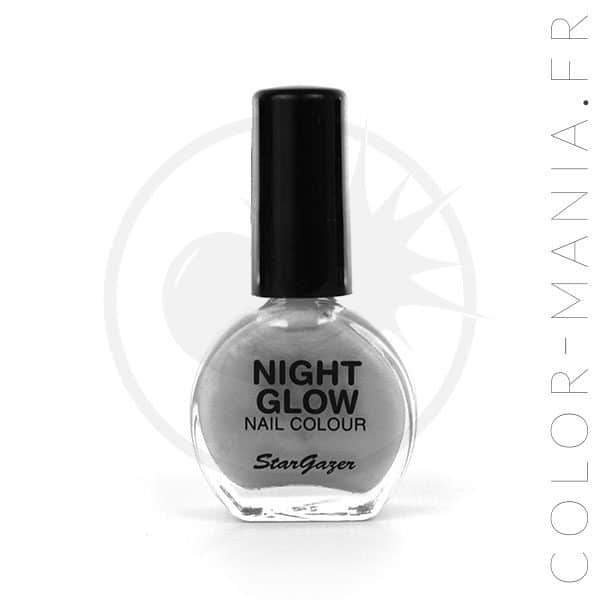 Vernis Gris Nacré Phosphorescent dans le Noir | Color-Mania