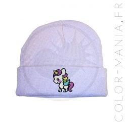 Gorro Lilac Unicornio Púrpura Blanco - Color-Mania