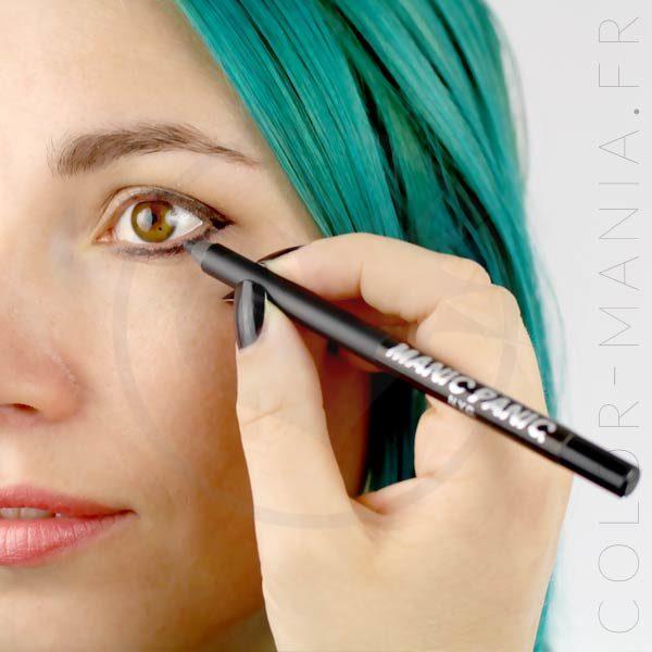 Raven Black Makeup Pencils - Manic Panic | Color-Mania