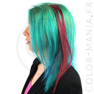 Extension Cheveux Bordeaux Divine Wine - Manic Panic | Color-Mania