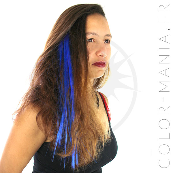 Extension Cheveux Bleue Shocking Blue - Manic Panic | Color-Mania