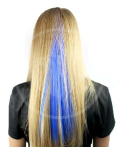 Blue Hair Extension Shocking Blue - Pánico maníaco | Color-Mania