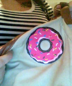 Merci Marie :) Patch Donut Rose | Color-Mania