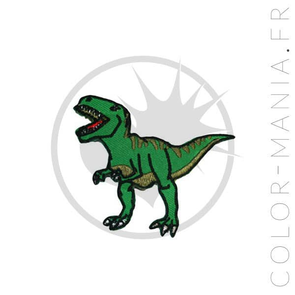T-Rex Dinosaur Patch | Color-Mania