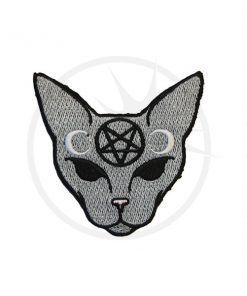 Patch di gatto mistico grigio | Color-Mania