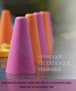Kit di coni di colore rosa-arancio per colorazione o decolorazione | Color-Mania