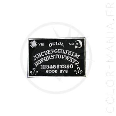 Patch Planche de Ouija Noir et Blanc | Color-Mania