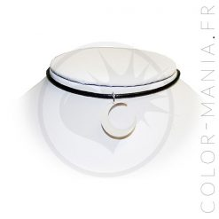 Collier Ras de Cou Lune Blanche | Color-Mania
