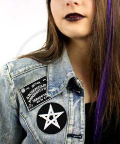 Patch Planche de Ouija et Pentagramme   Color-Mania