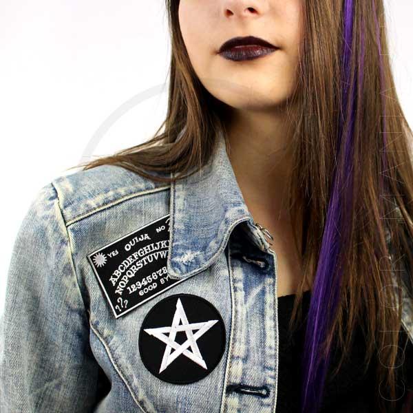 Patch Planche de Ouija et Pentagramme | Color-Mania