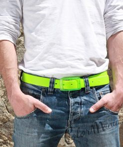 Anis Green Solicone Belt | Color-Mania