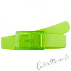 Ceinture Silicone Vert Anis | Color-Mania