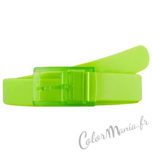 Anis Green Silicone Belt | Color-Mania