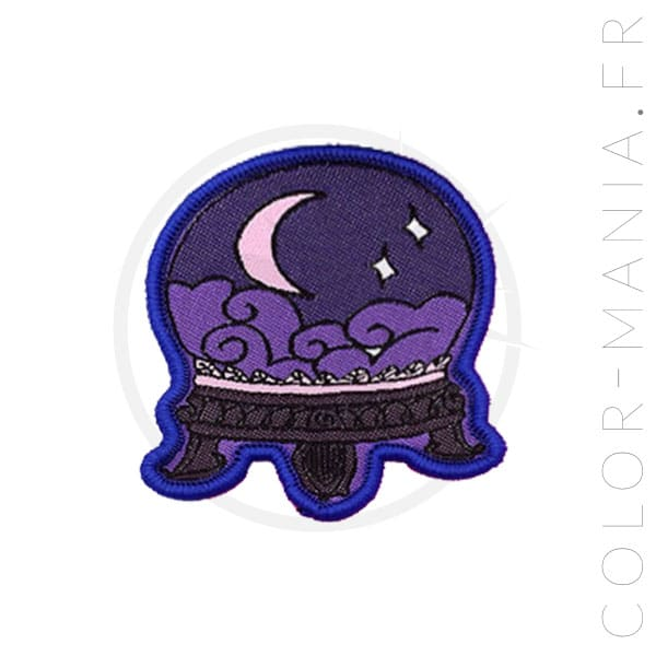 Crystal Ball Patch Blue | Color-Mania