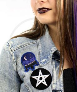 Crystal Ball y Pentagram Patch | Color-Mania