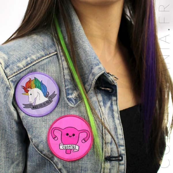 Cuterus y Majestic Unicorn Patch | Color-Mania