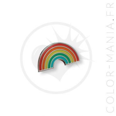 Pin's Arc-en-Ciel Multicolore | Color-Mania