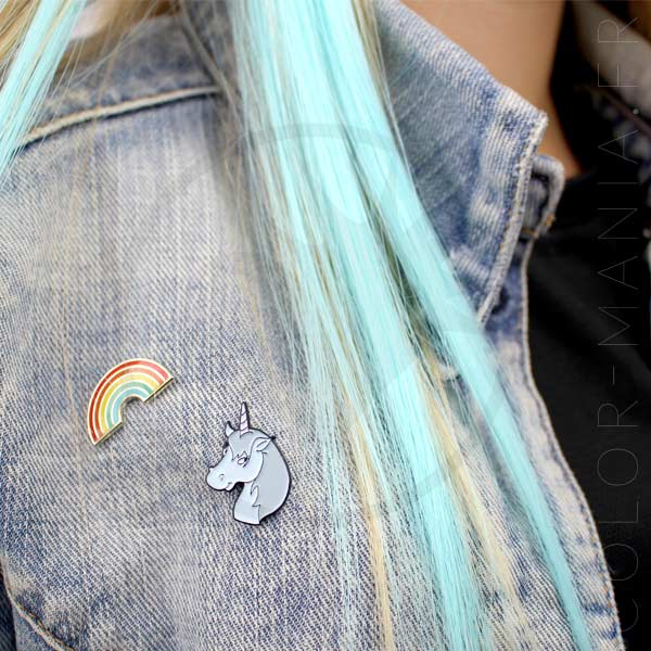 Unicornio Pin Simpson y Rainbow | Color-Mania