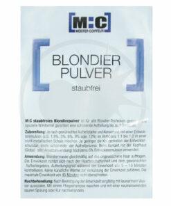 Bustina professionale in polvere di candeggina blu 100gr - [M: C] | Color-Mania