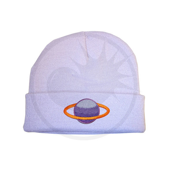 Gorro Lilac Saturn Morado y Albaricoque | Color-Mania