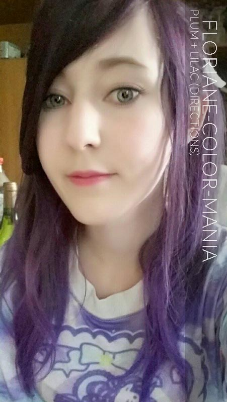 Merci Floriane :) Coloration Cheveux Violet Prune et Lilas – Directions
