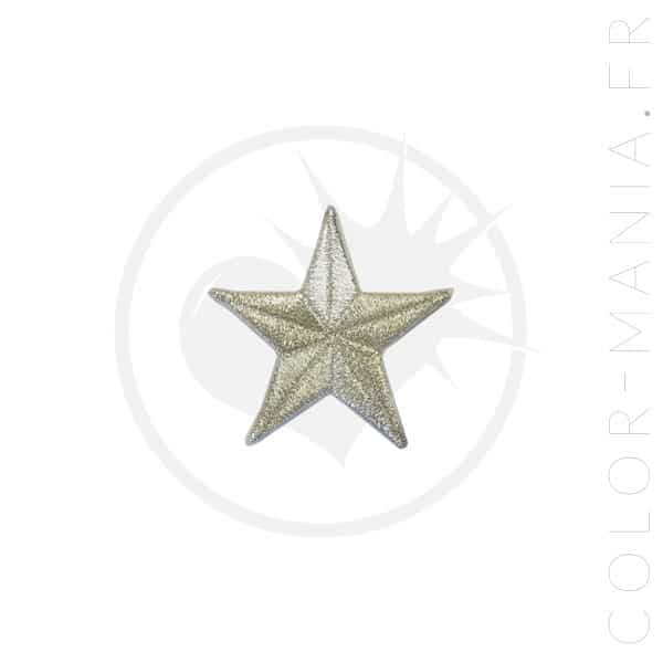 Silver Star Patch | Color-Mania