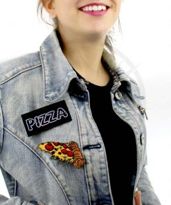 Patch Pizza Thermocollant et Holographique | Color-Mania