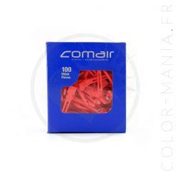 Petites Pinces à Cheveux Clips Rouges | Color-Mania