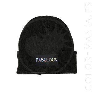 Bonnet Noir Fabulous Holographique | Color-Mania