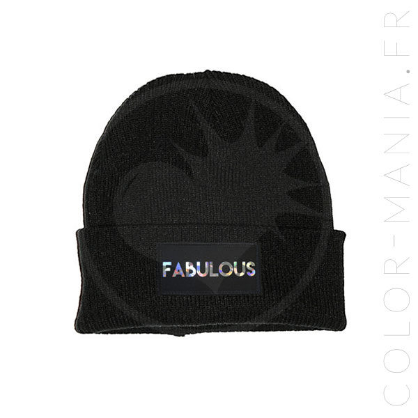 Bonnet Noir Fabulous Holographique | Color-Mania