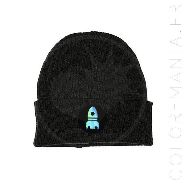 Black Hat Rocket Holográfico | Color-Mania