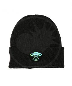 Disco volante olografico Black Hat | Color-Mania