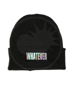 Bonnet Noir Whatever Holographique | Color-Mania