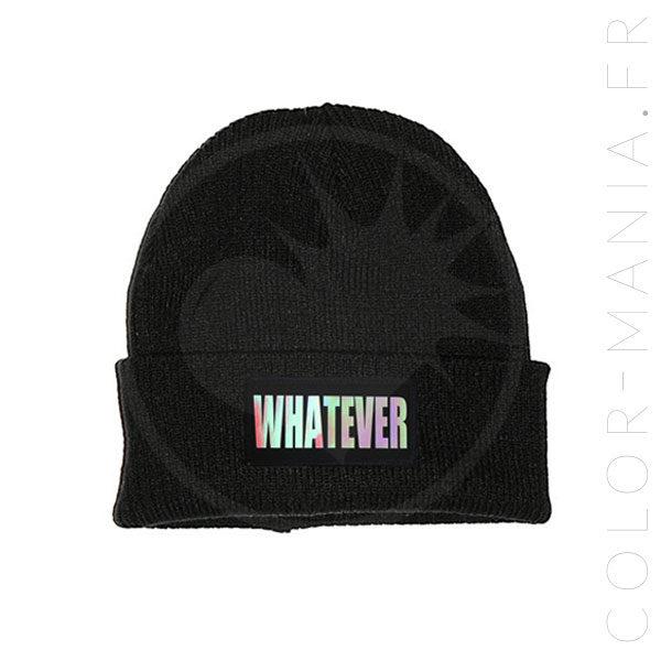 Bonnet Noir Whatever Holographique   Color-Mania