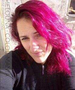 Merci Melouna ! Coloration Cheveux Rose Cerise - Directions