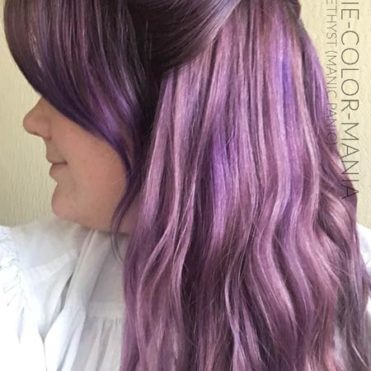 Merci Noellie :) Coloration Cheveux Violet Electric Amethyst - Manic Panic