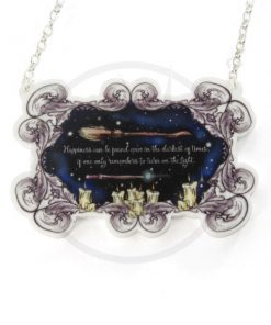 Collana di Harry Potter Citation Happiness | Color-Mania