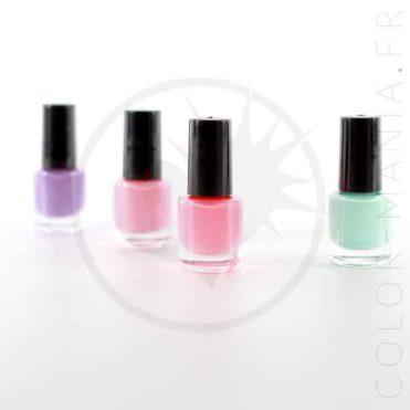 Kit 4 Vernis Magiques Parfumés Oh K | Color-Mania