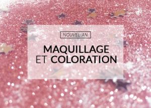 maquillage de nouvel an