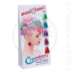 Colortones Creamtones Manic Panic Color Chart   Color-Mania